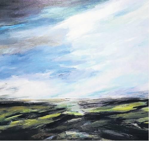 Sound of Rain Over Taieri, by Angela Burns.
