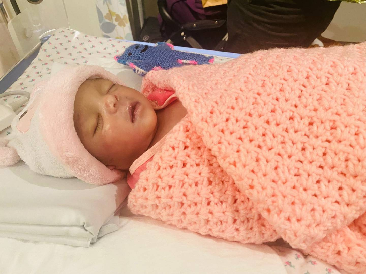 Baby Eliana died four days after being born when her father made the agonising decision to turn...