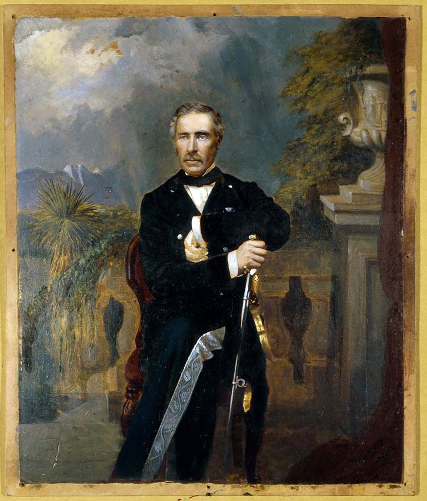 Sir George Grey, who in 1848 became the first New Zealand resident to be knighted. PHOTO:...