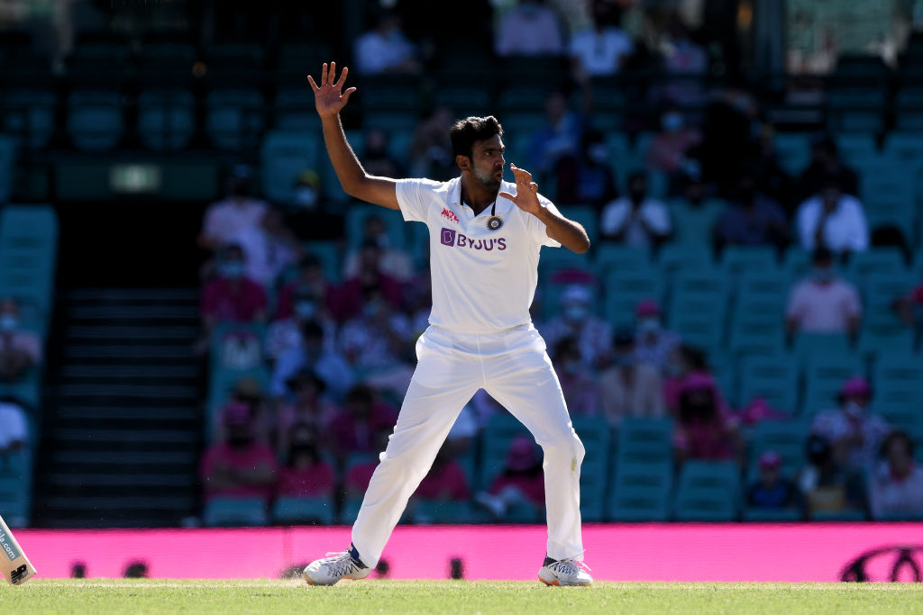 India's Ravichandran Ashwin. Photo: Getty