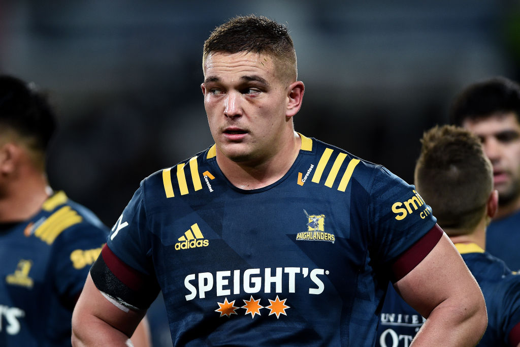 Highlanders prop Ethan de Groot has been named in the All Blacks squad. Photo: Getty