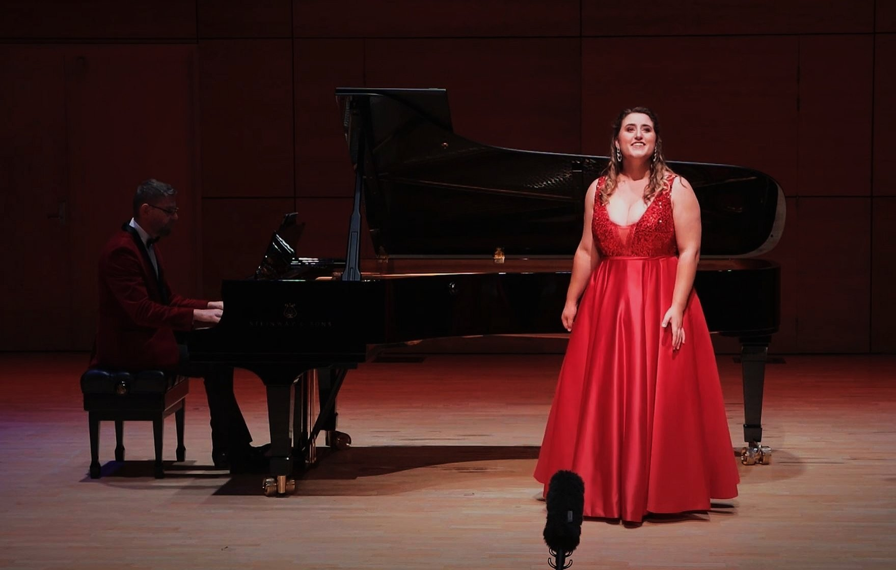 Soprano Katie Trigg is looking forward to her first performance in Dunedin since singing in the...