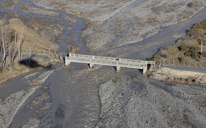 Lees Valley residents were left isolated by the flooding. Photo: Waimakariri District Council