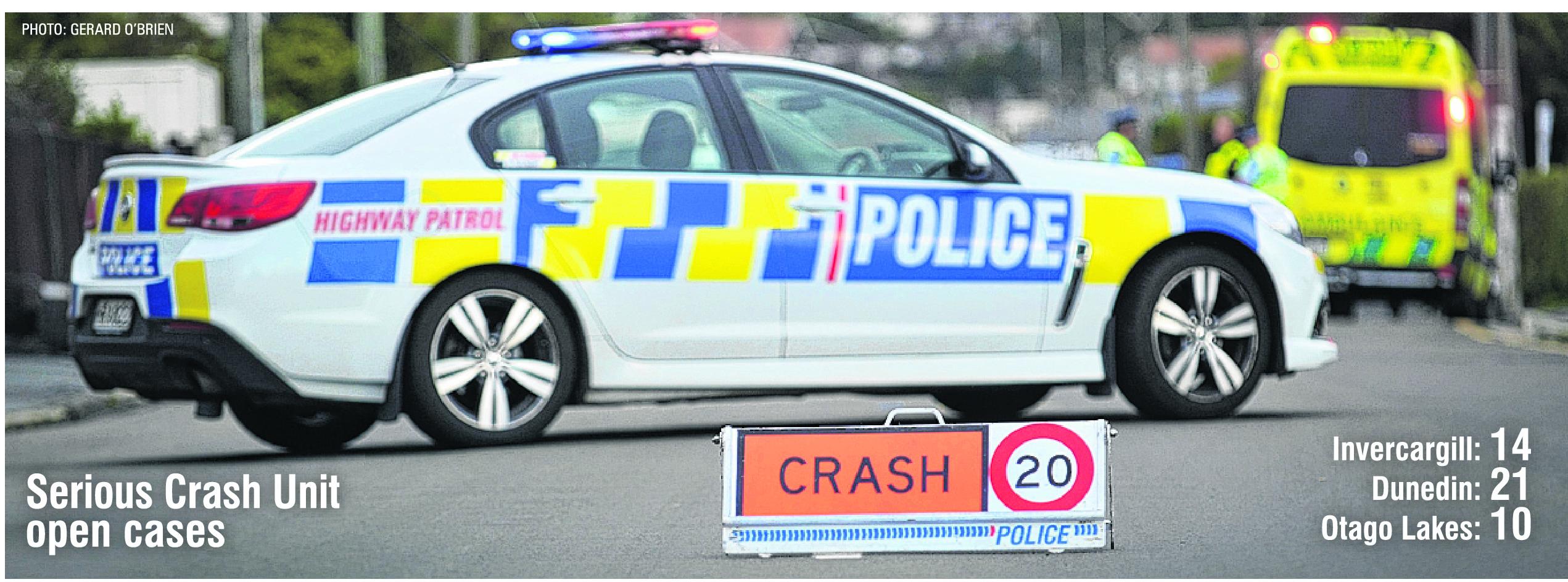 Serious Crash Unit. Photo: ODT files.