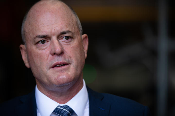 Todd Muller said he hoped to give the National Party and local branches ample time to find their...