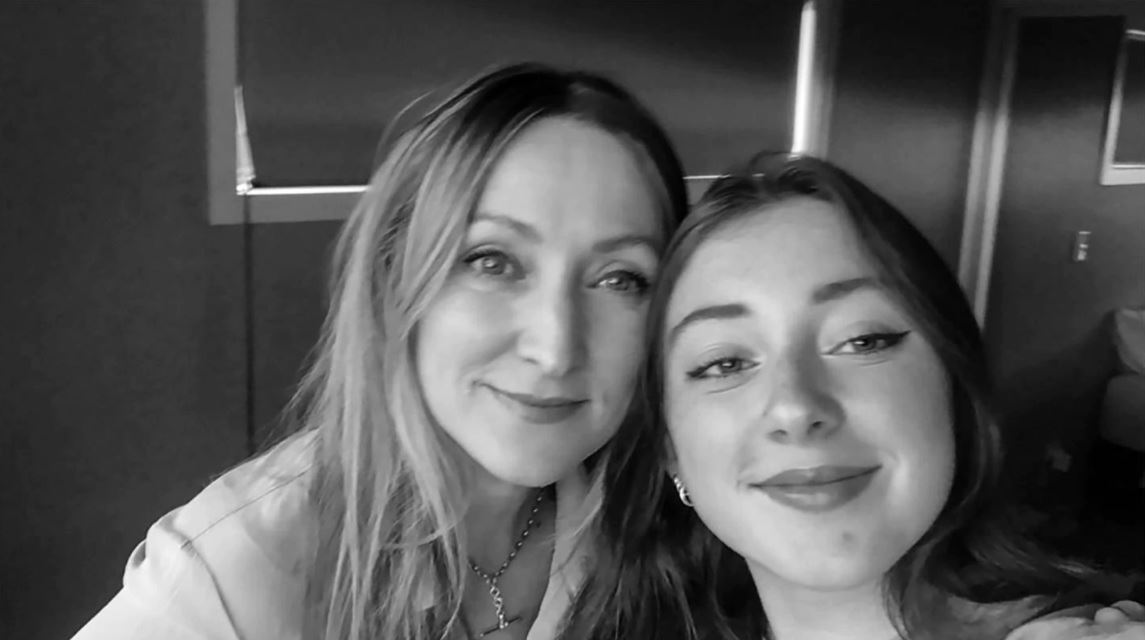 Rebecca Toms and daughter Georgia who has an eating disorder and prompted her mother's fight for...
