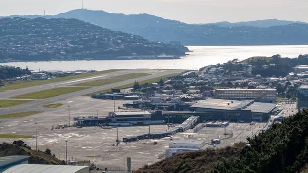 Wellington Airport. File photo