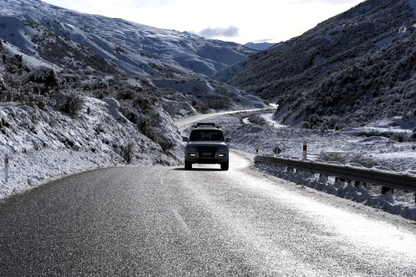 The Crown Range Road, between Queenstown and Wanaka. Photo: ODT