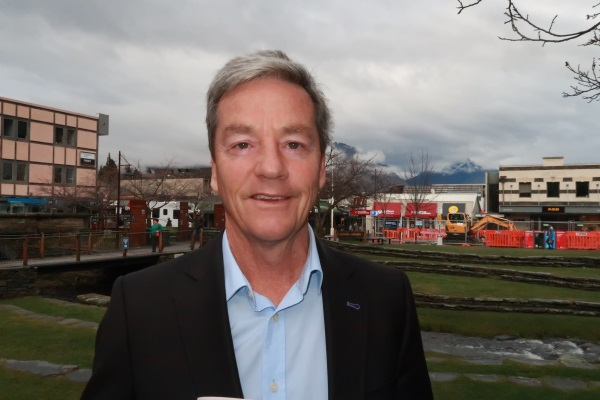 Opposition treasury spokesman Andrew Bayly in Queenstown recently. Photo: Mountain Scene