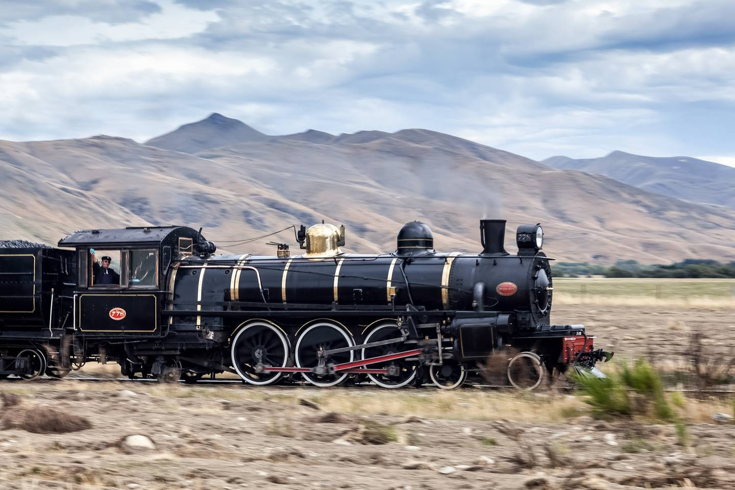 Guests will have chance to ride the restored 1870s Kingston Flyer. Photo: Supplied