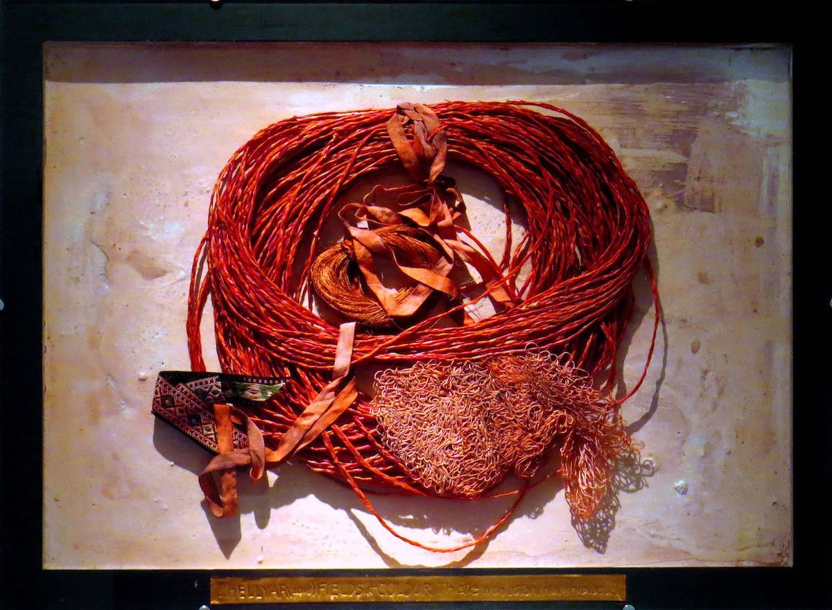 Thistle - Dye with Cotton, Flax, and Hibiscus, by Christine Hellyar. Image: supplied