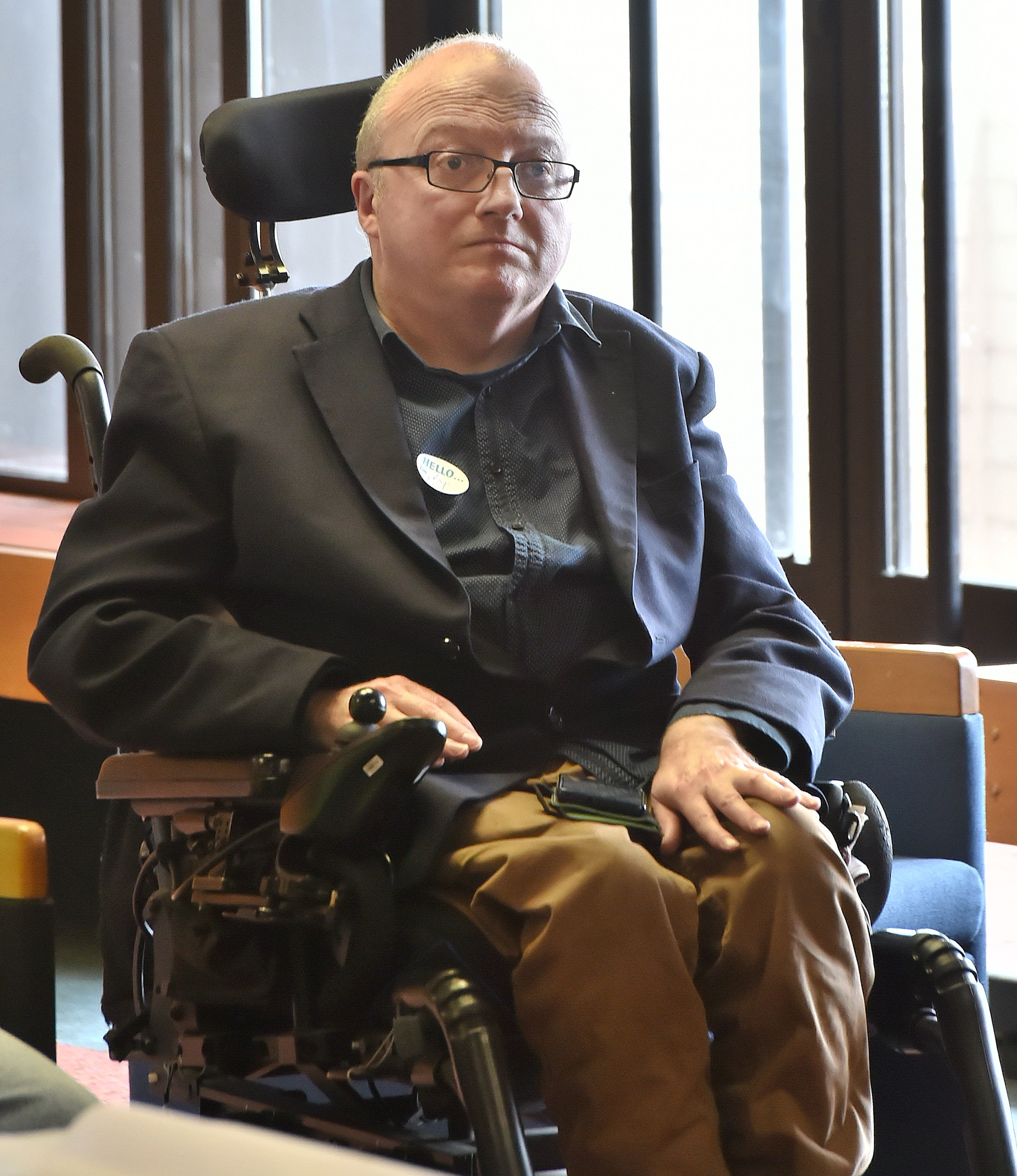 Access concerns . . . Disabled Persons Assembly kaituitui Chris Ford says Kainga Ora should aim...