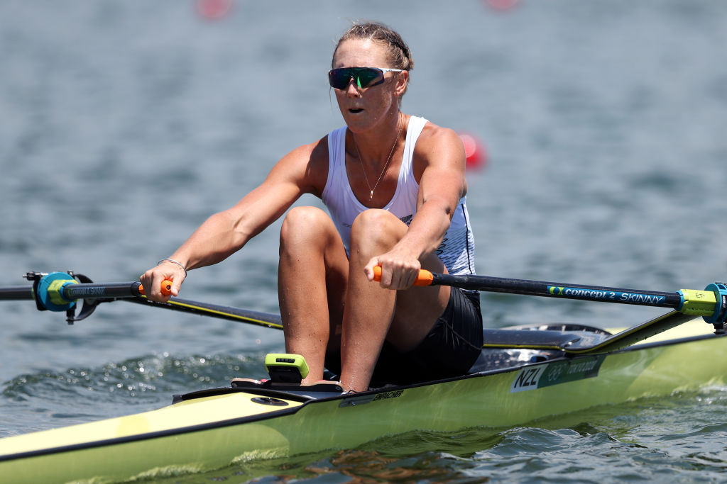 Emma Twigg in action at the Tokyo Olympics. Photo: Getty