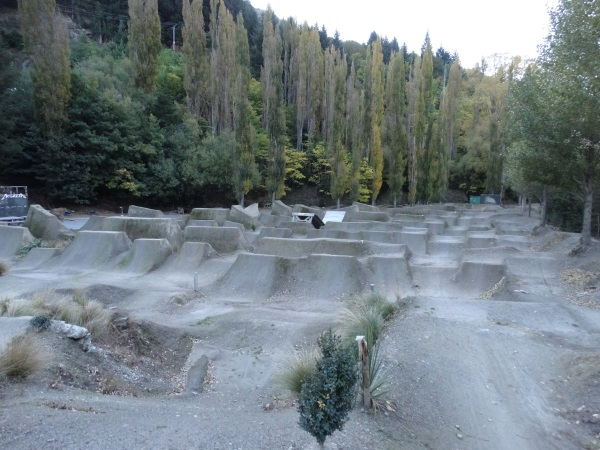 The jump park took about 10 years and hundreds of volunteer hours to build. Photo: Mountain Scene