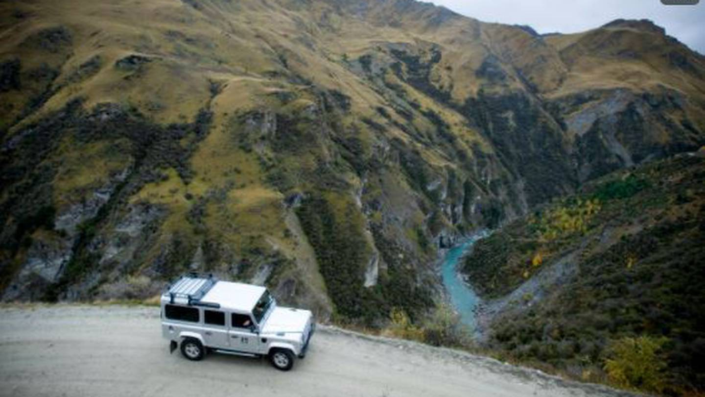 Skipper's Canyon Rd, near Queenstown, has been rated the most dangerous in New Zealand. Photo: Dean Purcell