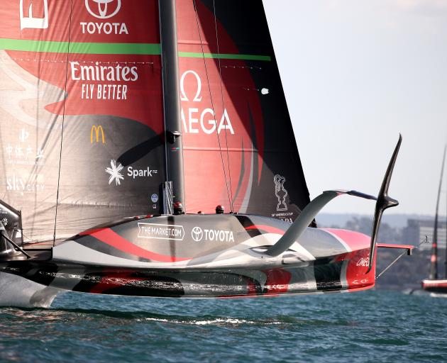 Team New Zealand beat Italy's Luna Rossa to retain the America's Cup in Auckland earlier this...