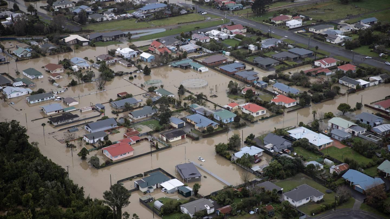 Westport was devastated by flooding after recent heavy rain. Photo: NZ Herald