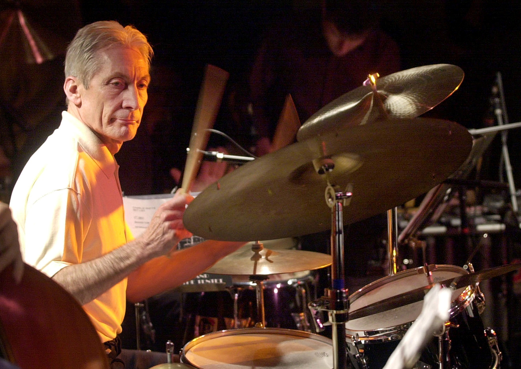 Charlie Watts played drums on all of the band's 30 albums and on every tour. Photo: Reuters.