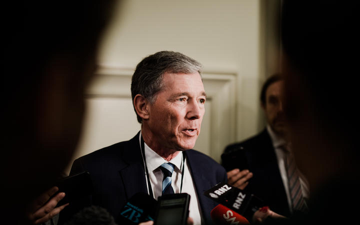 National Party president Peter Goodfellow is seeking re-election. Photo: RNZ