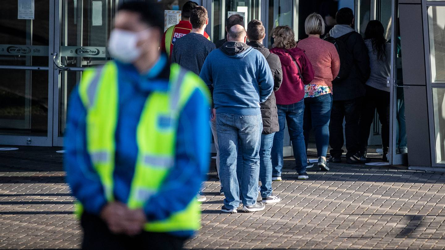 South Aucklanders queue for New Zealand's first mass vaccination event, which aims to get more...