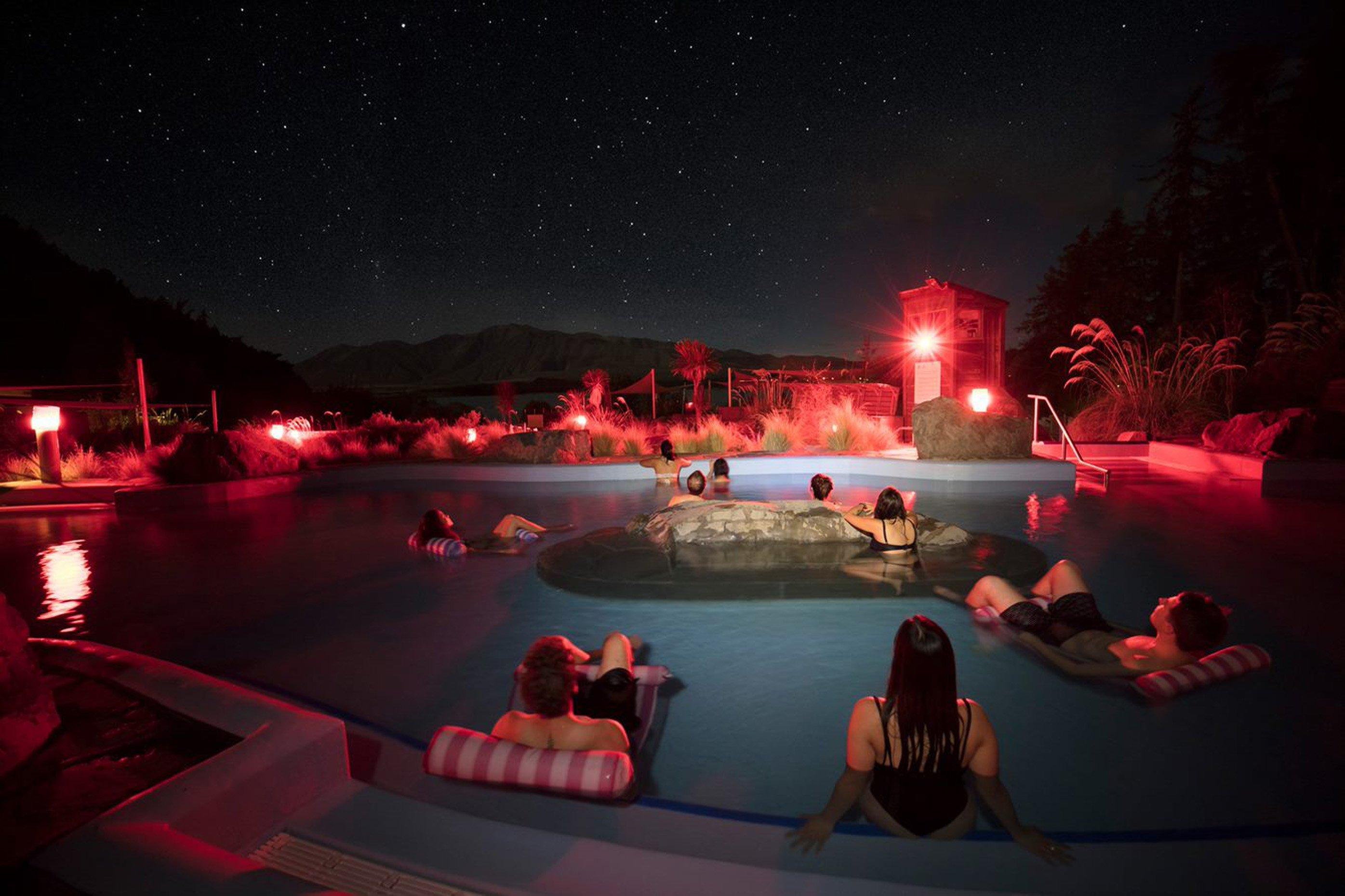 Romanced by starry skies and snowy mountains, Lisa Scott enjoys a Mackenzie honeymoon. PHOTO:...