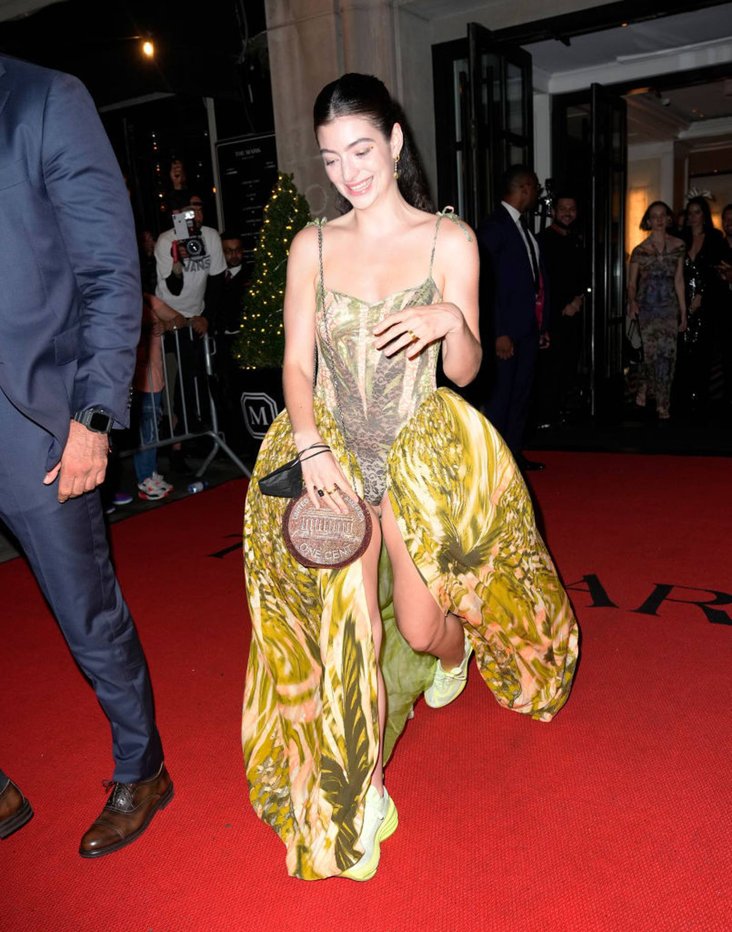 Lorde's after party look. Photo / Getty Images