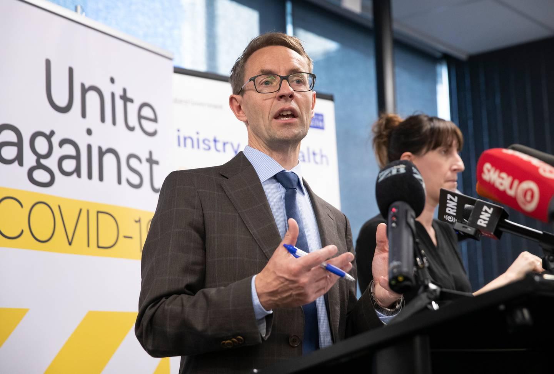 Dr Ashley Bloomfield. Photo: NZ Herald