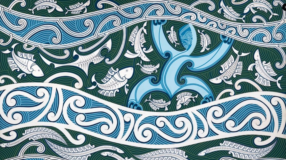 Tangaroa, by Cliff Whiting.