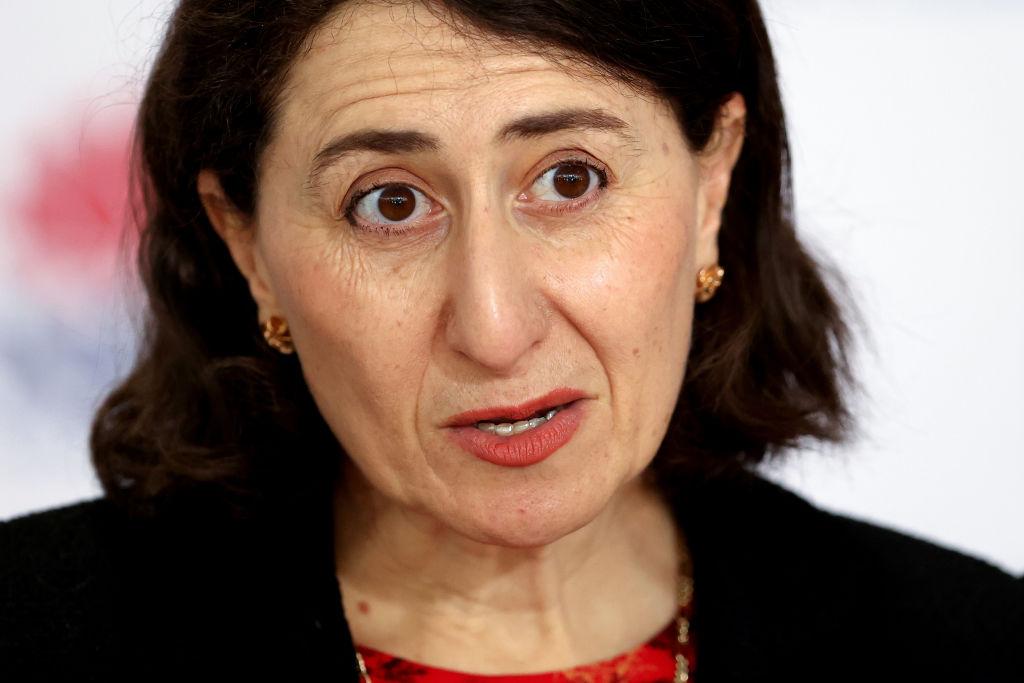 New South Wales Premier Gladys Berejiklian. Photo: Getty
