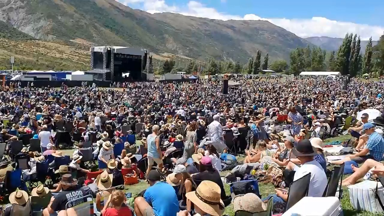 The Gibbston Summer Concert is a popular event that draws thousands of people. File photo