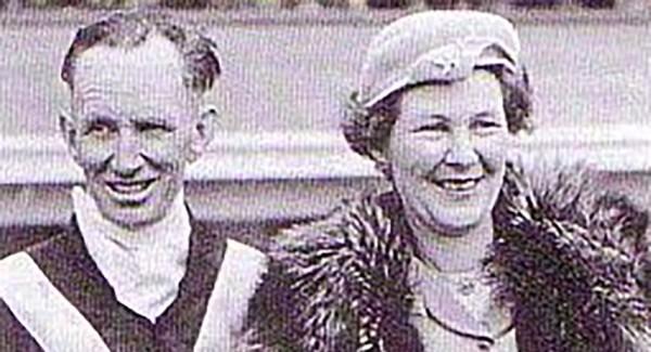 Don and Doris Nyhan. Photo: HRNZ