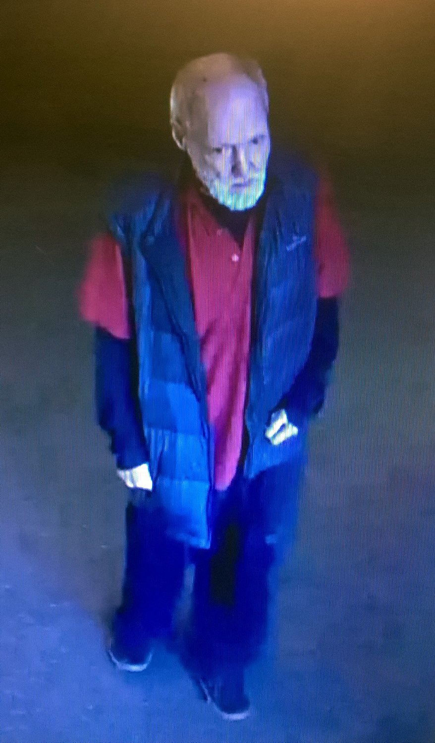 A CCTV image of Gordon Mclean