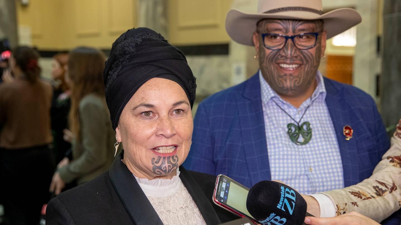 Māori Party leaders Debbie Ngarewa-Packer and Rawiri Waititi. Photo: NZ Herald