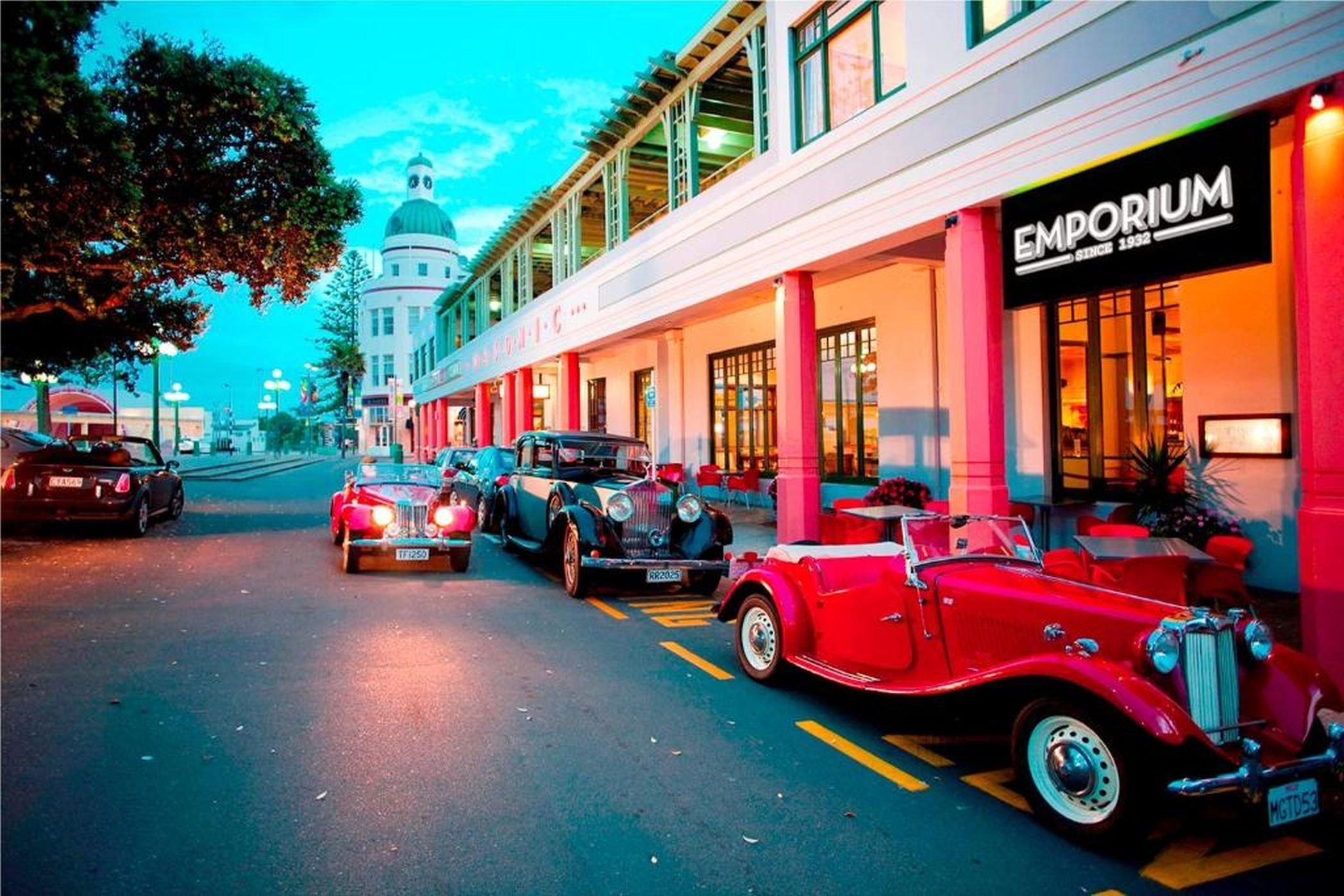Napier embraces its Art Deco heritage. PHOTO: SUPPLIED