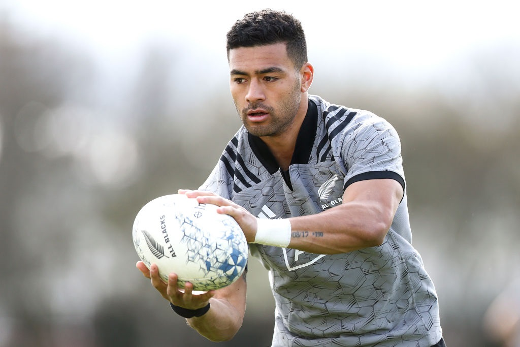 Richie Mo'unga is the only All Black that played on Saturday to remain in Japan. Photo: Getty Images
