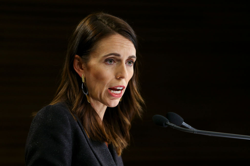 Prime Minister Jacinda Ardern said the climate change plan will help New Zealand build back...