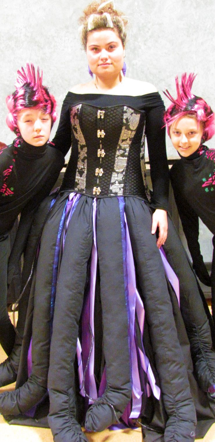 Brooke Miller at the Mid Canterbury Children's Theatre. Photo: Ashburton Courier