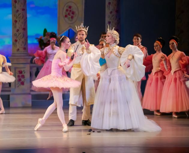 RNZB performers in Sleeping Beauty last year. PHOTO: STEPHEN A'COURT