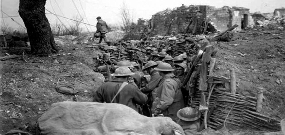 By 1918, trenches stretched from the North Sea to the Swiss border. The stressful, overcrowded,...