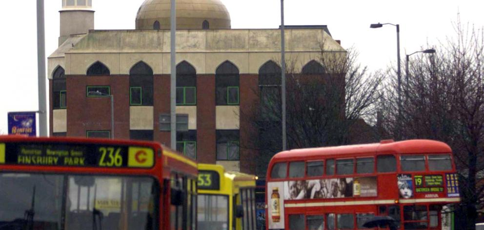 The mosque in Finsbury Park. Photo: Reuters
