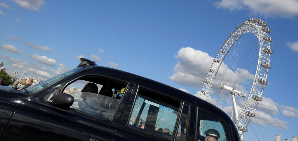 Black cab drivers welcomed the move. Photo: Reuters