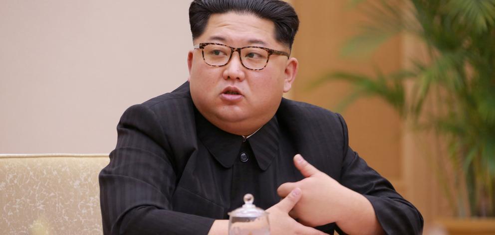 North Korea leader Kim Jong Un. Photo: KCNA via Reuters