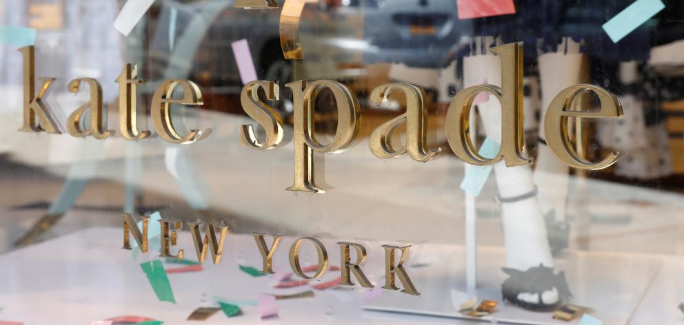 Kate and Andy Spade sold their last stake in the brand in 2006 to focus on their daughter. Photo:...