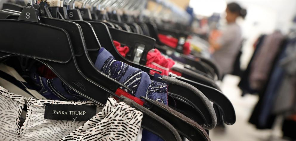 Mid-priced women's clothing, shoes and accessories were sold under the Ivanka Trump label. Photo:...