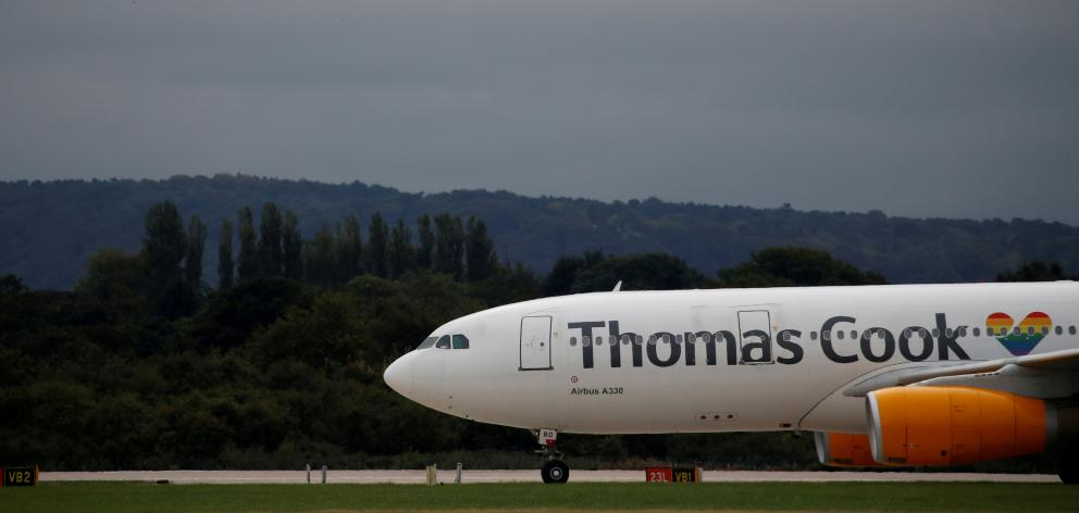 Thomas Cook was one of Britain's oldest and much-loved companies. Photo:Reuters