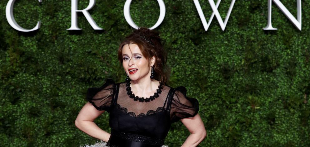 Helena Bonham Carter said playing Princess Margaret was a joy. Photo: Reuters