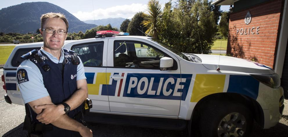 Police Constable Paul Gurney, of Haast, says he is living the ''policing dream''.