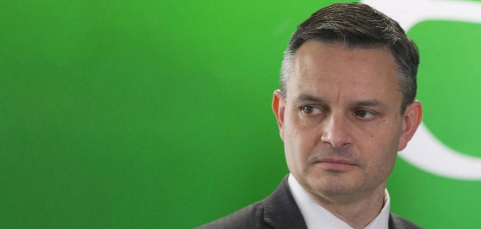 James Shaw will be the sole leader of the Greens. Photo: NZ Herald
