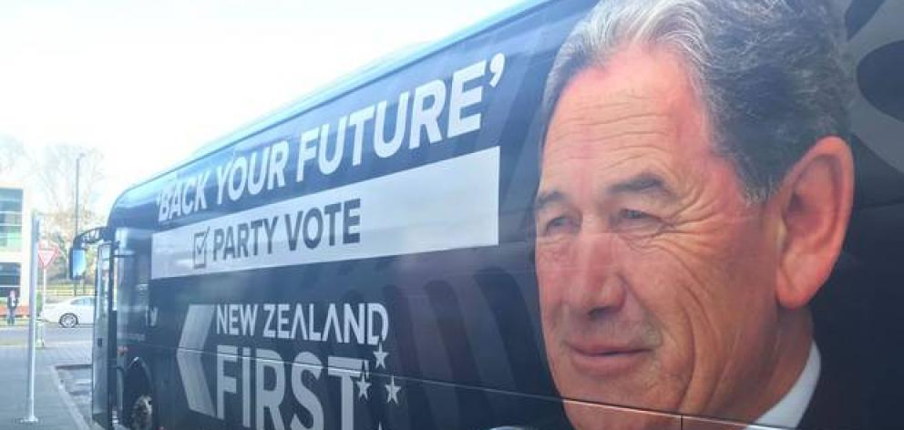 Peters takes aim at Labour and Greens | Otago Daily Times Online News
