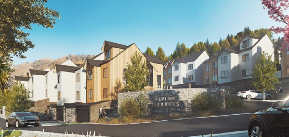 Bullendale switches to terraced-style, European-influenced housing for stage three. Photo:...
